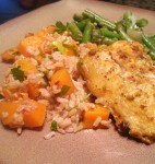 Roasted Butternut Squash Brown Rice