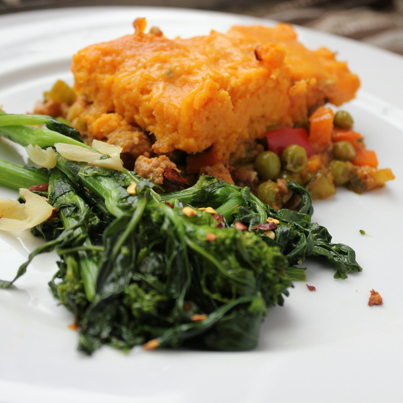 Sweet Potato Turkey Shepherd's Pie - MyBodyMyKitchen