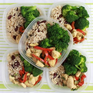 We Ve Prepared A Simple Rice And Kidneys Dish Similar To Our Carrots Rice And Beans Recipe Along With Steamed Broccoli And A Quick And