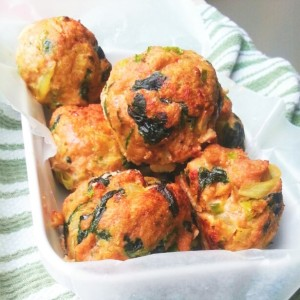 turkey-meatballs-spinach-baked