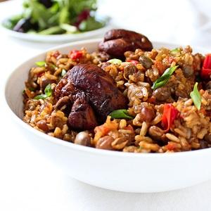 Trinidadian Chicken Pelau